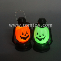 colorful light up halloween led pumpkin lantern tm03096