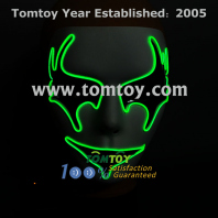 cosplay light up el mask tm109-012_gn