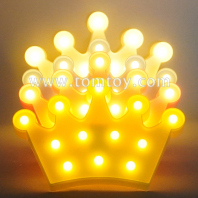 crown marquee led night light tm06492