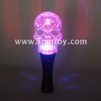 crystal skull light up wand tm083-006