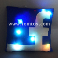 customizing led light up facebook pillow tm03184