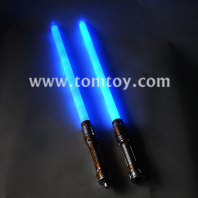 double led light up saber sword tm082-031-bl