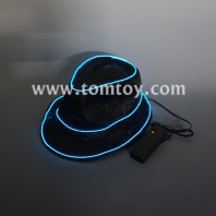 el light up fedora top hat tm05852