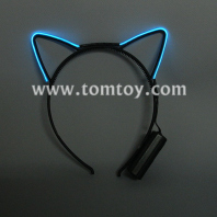 el wire cat ears headbands tm109-016-bl