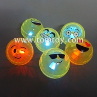 emoji led flashing bouncy ball tm03142
