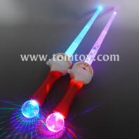 extensible light up santa claus sword tm06261
