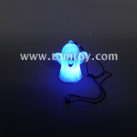 fashing halloween led ghosts necklace tm00023