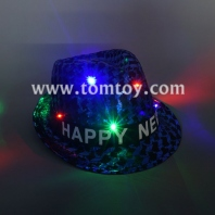 fashion light up sequin fedora hat tm03146