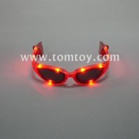 fashion plastic flashing led glasses tm00871