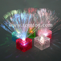 fiber centerpieces with crystal base tm01420