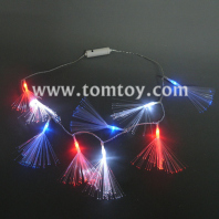 fiber led light up necklace tm041-070