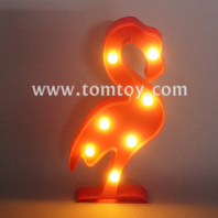 flamingo marquee led night light tm06497