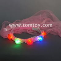flashing bridal veil with flower tm03281