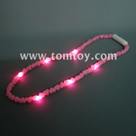 flashing heart-shaped led necklace tm00690