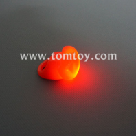 flashing heart shaped rubber ring tm01949