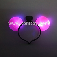 flashing led cute ear headband tm02486