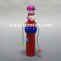 flashing led snowman spinning wand tm03032