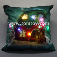 flashing led xmas cushion tm03261