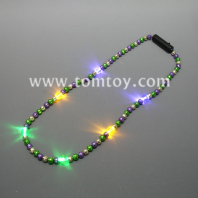 flashing mardi gras necklace tm02785