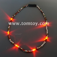 flashing multicolor beads necklace tm03494