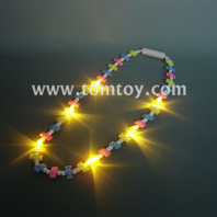flashing multicolor candy necklace tm00677