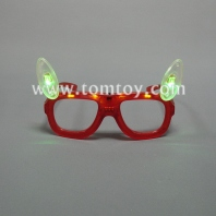 flashing small ears led glasses tm00873