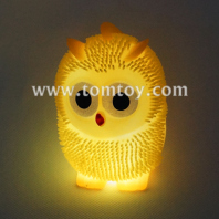 flashing squeeze owl puffer ball tm02871