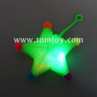flashing star puffer yoyo ball tm02865
