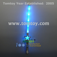 flashing star wand tm129-042-bl