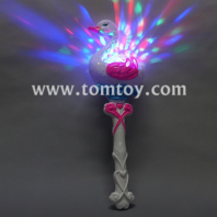 flashing swan led light fairy wand toy tm03078