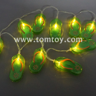 flip-flops led string lights tm04339-gn