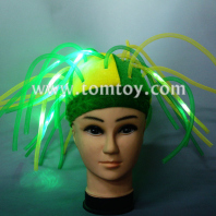 fun led light up assorted noodle hat tm02179
