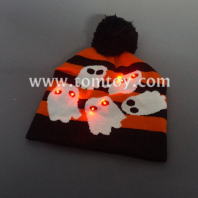 ghost light up knitted hat tm03934