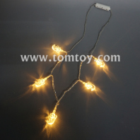 ghost light up necklace tm05626