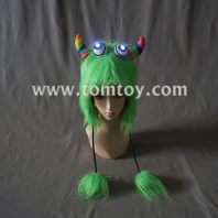 green led light up hat tm04745