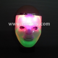 halloween costume flashing double-deck led mask tm00274