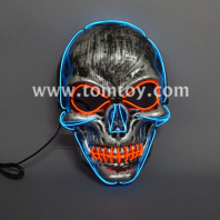 halloween led el mask tm04545