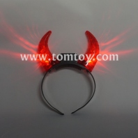 halloween light up devil headband tm03084