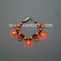 halloween light up pumpkin bracelet tm01097-pumpkin