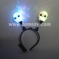 halloween light up skull headband tm277-006-skull