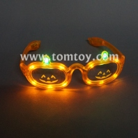 halloween pumpkin light up glasses tm00912