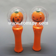 halloween pumpkin light up spinning wand tm03034