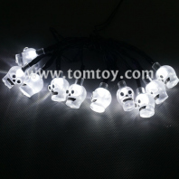 halloween skull led string lights tm04356