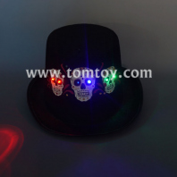 halloween skull light up hat tm04697