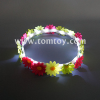 handmade led flower crown headband tm02676