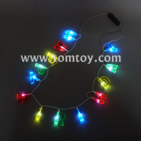 happy birthday led light up necklace tm041-098