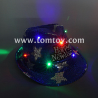 happy new year light up fedora hat tm03145-bl
