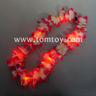 hawaiian ruffled flower leis necklace tm00651