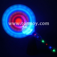 heart flashing led windmills wand with sound tm03027