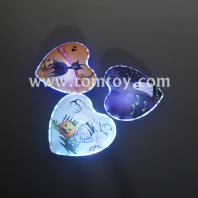 heart shape led wall sticker light tm05032